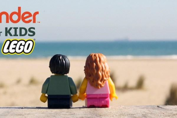 LEGO et TINDER s'associent pour créer une appli de rencontre pour les enfants