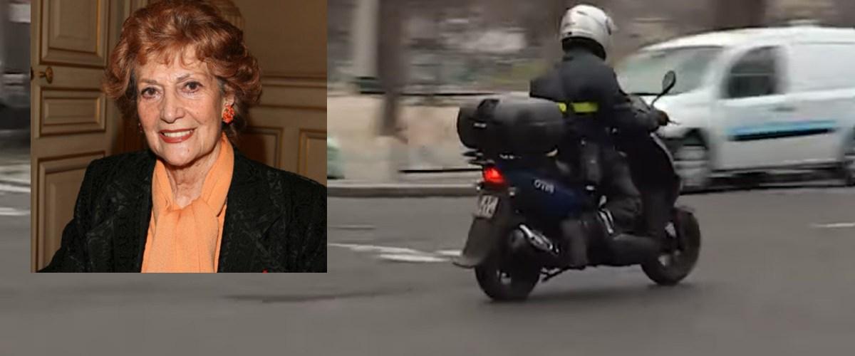Emmanuel Macron aperçu en scooter devant le domicile de Rosy Varte