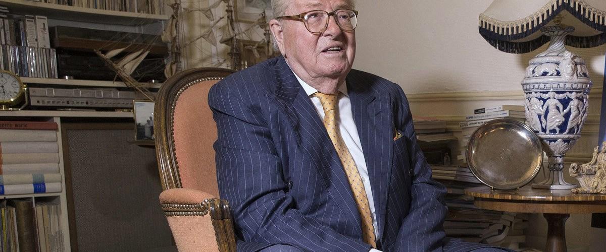 Jean-Marie Le Pen fait appel à un nègre pour écrire ses mémoires