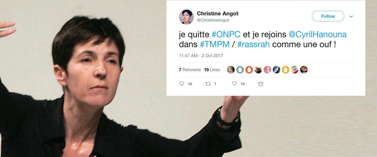 Christine Angot quitte ONPC et devient chroniqueuse chez Cyril Hanouna dans TPMP