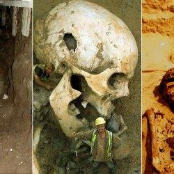 Les géants et les nephilims ont existé  ! Ces photos du FBI déclassifiées par erreur le prouvent