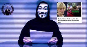 Le collectif de pirates Anonymous menace SecretNews dans un nouveau communiqué