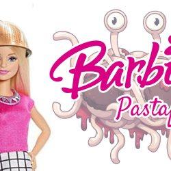 Après la poupée voilée, Mattel présente son nouveau modèle : La Barbie pastafarienne