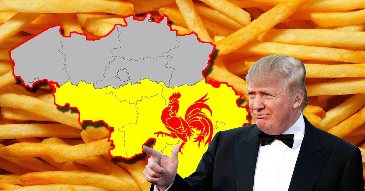 donald-trump-belgique Donald Trump propose à Israël de déménager aux USA et de devenir le 51° état