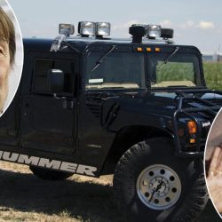 """Nicolas Hulot achète aux enchères le Hummer de Tupac : """"seulement pour aller à la boulangerie"""""""