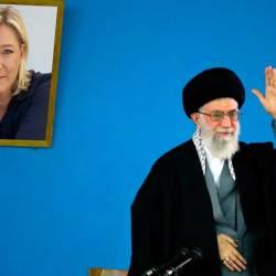 Pourquoi le Guide suprême iranien a-t-il un portrait de Marine Le Pen dans son bureau ?
