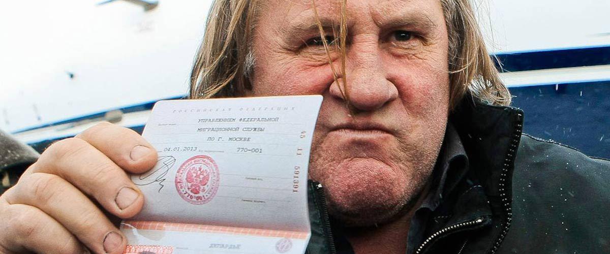 Gérard Depardieu déménage en Algérie pour succéder au président Bouteflika