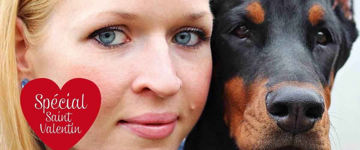 """Ils se diront """"Wouf !"""" - Elle se marie avec son chien pour la Saint-Valentin (Norvège)"""