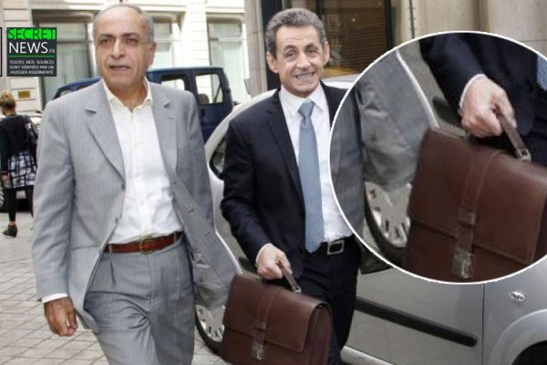 La photo qui accuse : Ziad Takieddine remettant une sacoche d'argent lybien à Nicolas Sarkozy