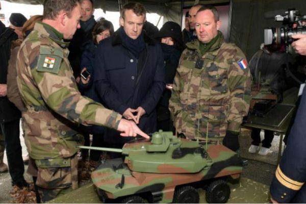 La France va déployer des blindés MINIATURES en Syrie, pour faire moins de dégâts et éviter l'escalade