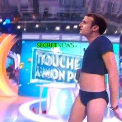 Macron fera un striptease pendant le débat animé par Schiappa et Hanouna
