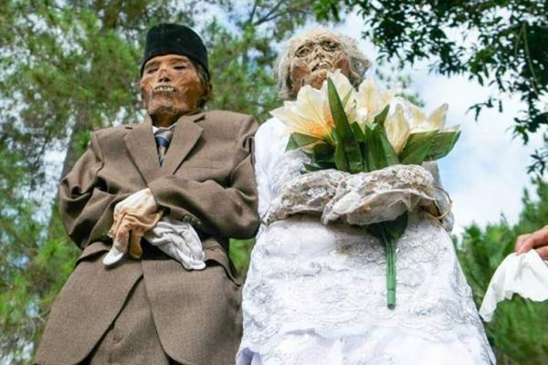 Ils déterrent leurs parents 50 ans après leur mort pour pouvoir enfin les marier officiellement