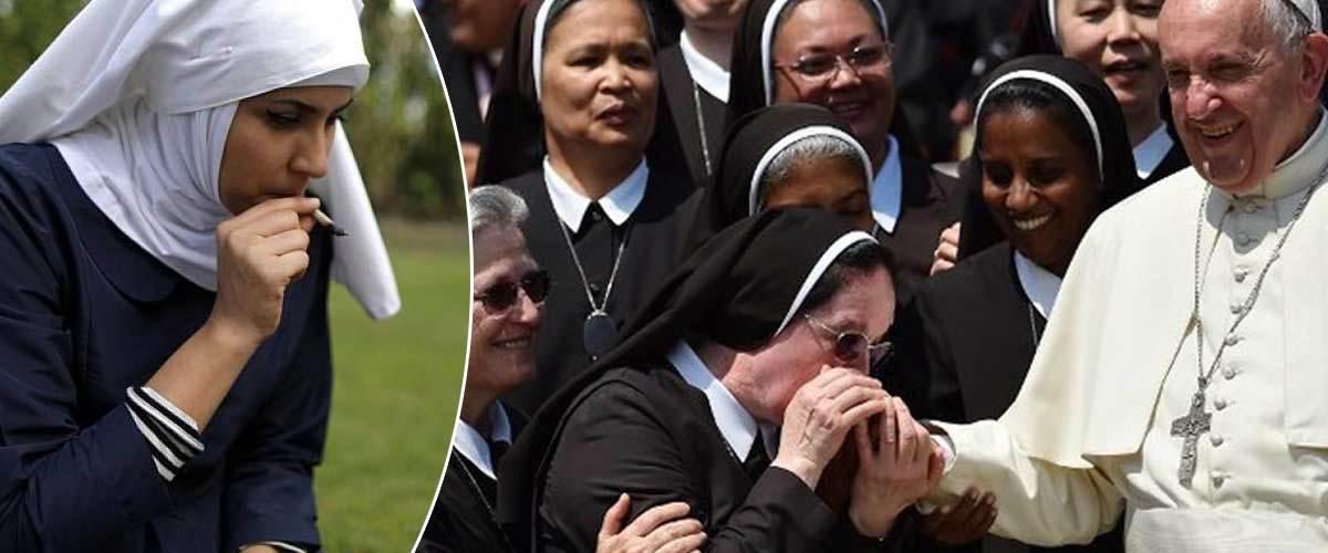 Des nonnes du Vatican vendent leur virginité aux enchères pour acheter de la drogue