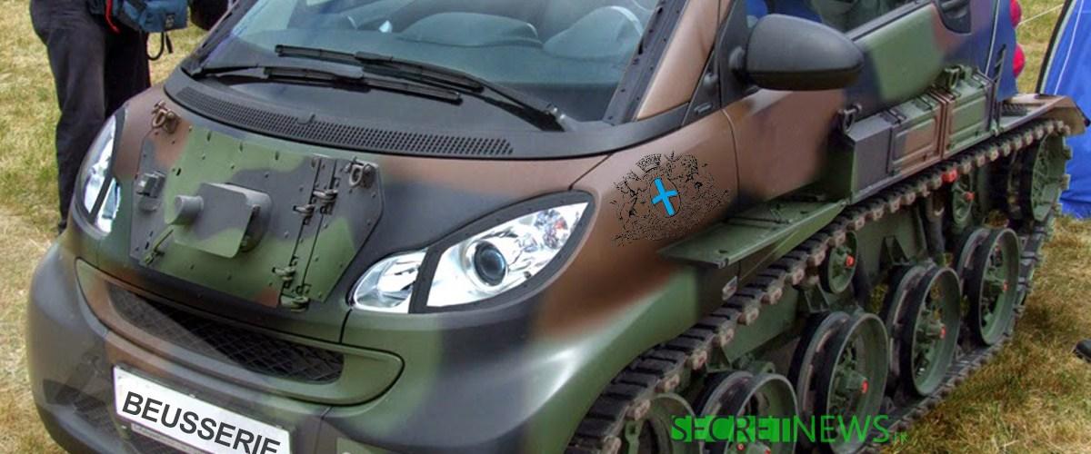 """Mercedes présente la Smart """"Beusserie"""", un blindé low-cost pour circuler en sécurité à Marseille"""
