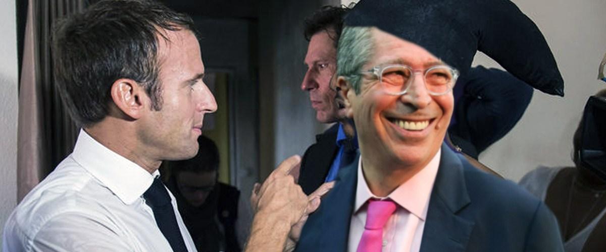 """""""Il ne faut pas refaire des bêtises"""" : quand Emmanuel Macron sermonne un fraudeur"""
