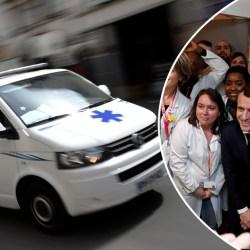 Emmanuel Macron s'est fracturé le col du fémur en chutant dans les sondages