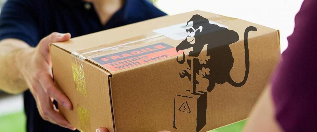 USA : Les colis piégés étaient en fait des œuvres du street artist Banksy