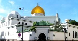 Grâce au Loto du Patrimoine, un dôme en or massif posé sur la Grande Mosquée de Paris