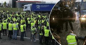 Gilets Jaunes à Paris : la police réquisitionne 597 autobus de la RATP et 17 centres d'accueil des migrants