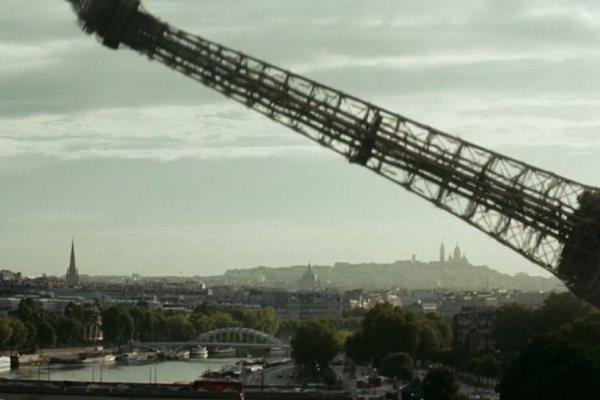 Tempête Ciara : la tour Eiffel est tombée !