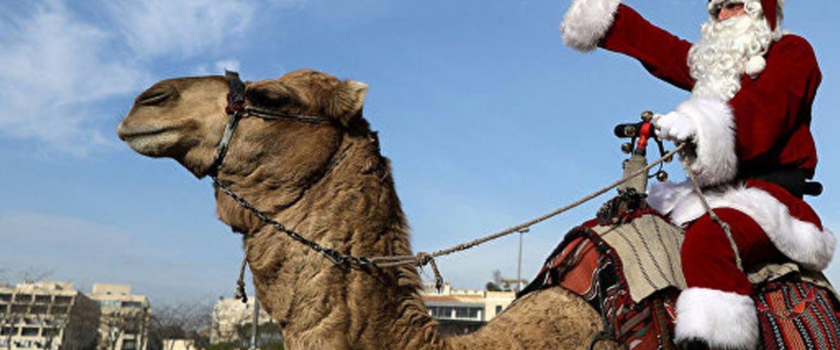 Grand Remplacement : le Père Noël livrera ses cadeaux en chameau