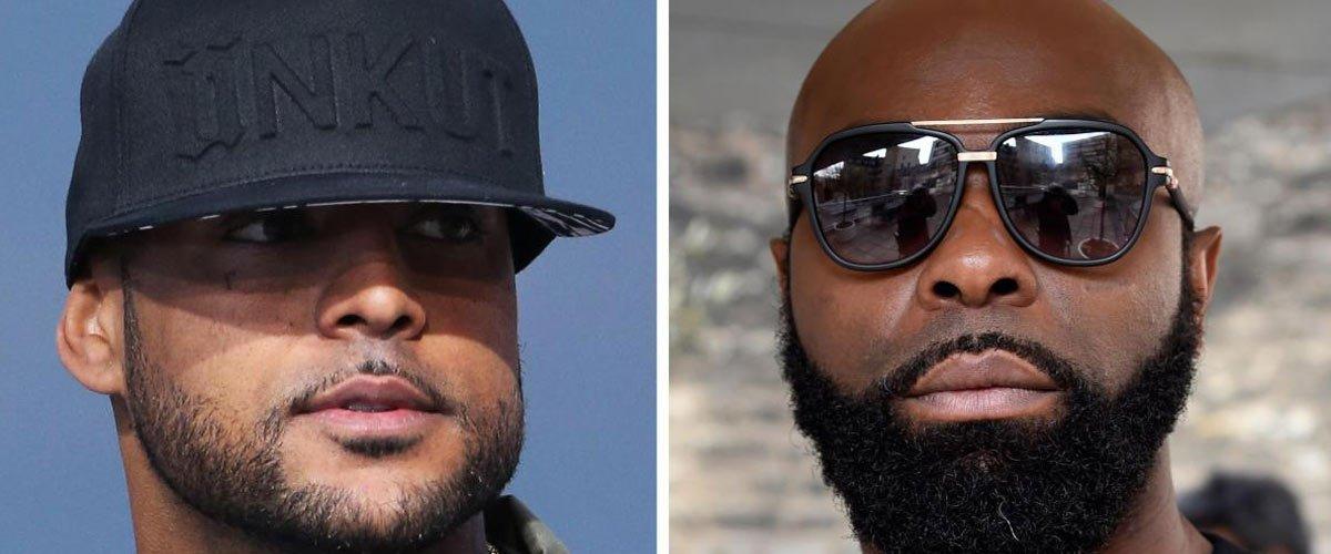 Les boxeurs Booba et Kaaris changent de carrière et se lancent dans la musique