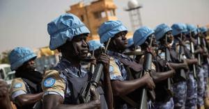 600 casques bleus africains envoyés aux USA pour protéger la démocratie
