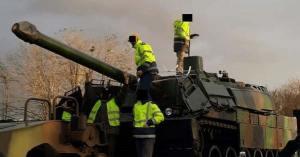 Un char Leclerc volé par des Gilets Jaunes sur le camp militaire de Mourmelon