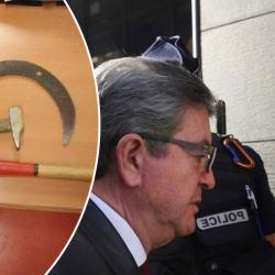 Jean-Luc Mélenchon en garde-à-vue après avoir attaqué un CRS avec un marteau et une faucille