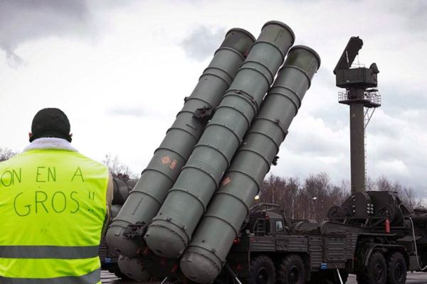 Crash du mirage 2000 : 50 Gilets Jaunes arrêtés en possession de missiles sol-air S300 russes