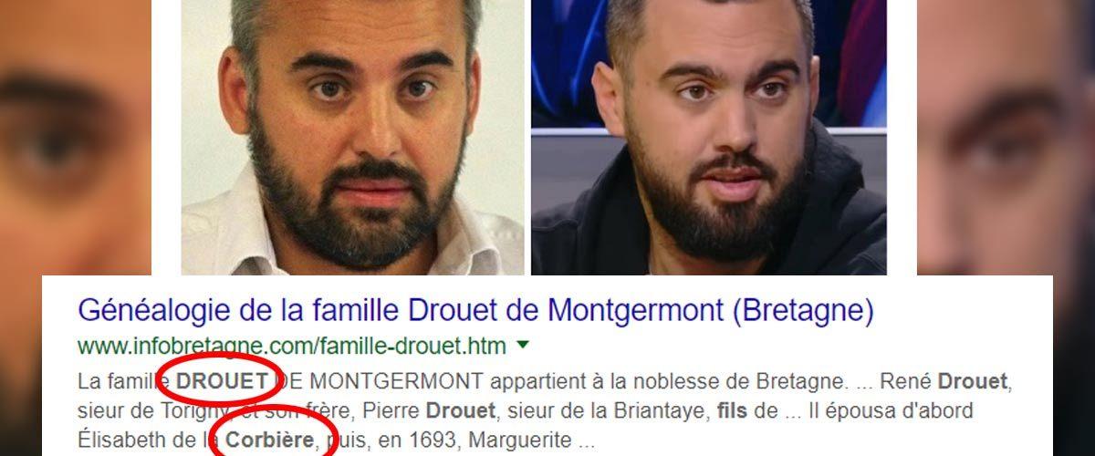 Un généalogiste russe prouve que Eric Drouet est le fils d'Alexis Corbière
