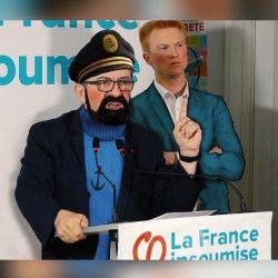 Tintin et le Capitaine Haddock rejoignent la France Insoumise