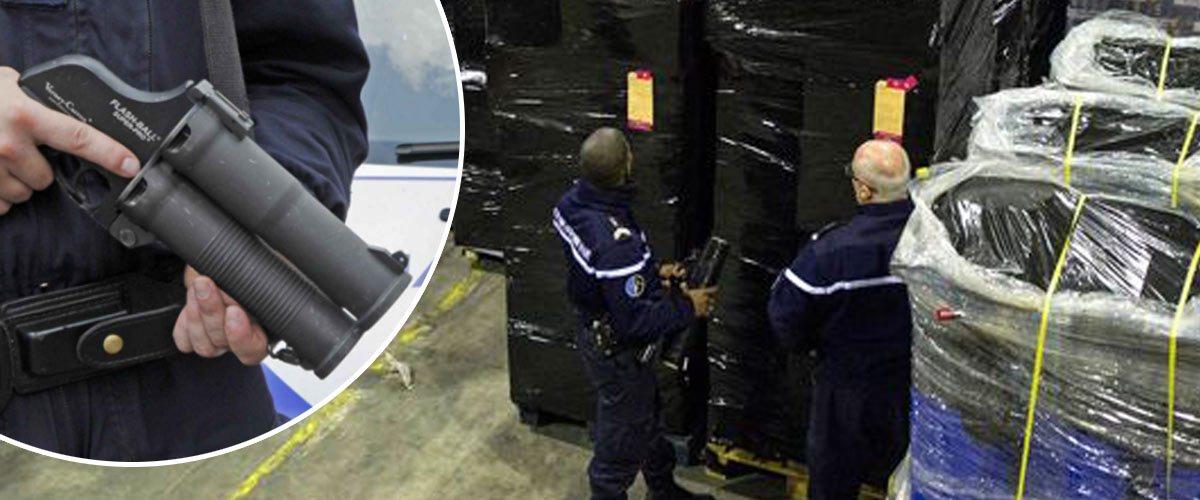 1200 flashballs volés par des Gilets Jaunes dans un entrepôt de la police
