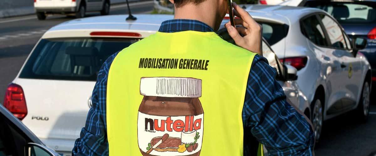 24 millions de Gilets Jaunes dans la rue exigent la réouverture de l'usine Nutella