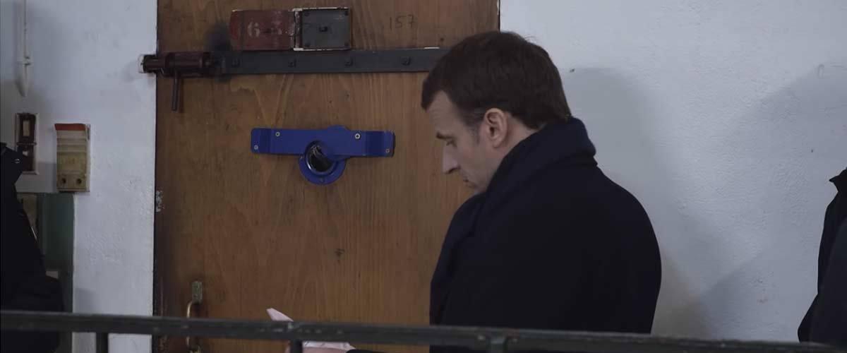 Emmanuel Macron a visité Salah Abdeslam en prison pour lui donner son chèque