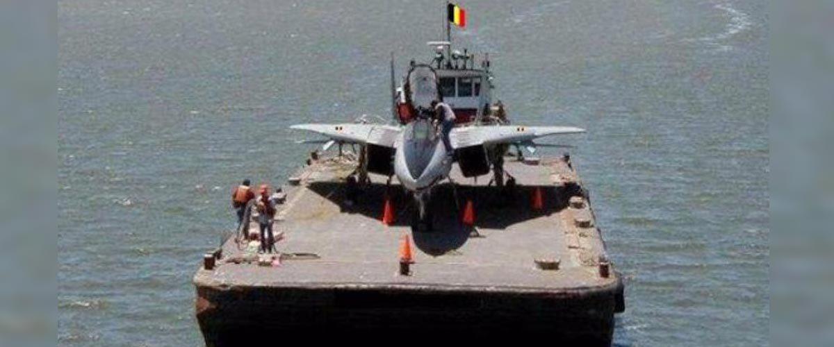Troisième guerre mondiale : le porte-avion belge se dirige vers l'Iran