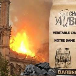 """Du charbon de bois """"Notre-Dame de Paris"""" en vente pour financer la rénovation"""