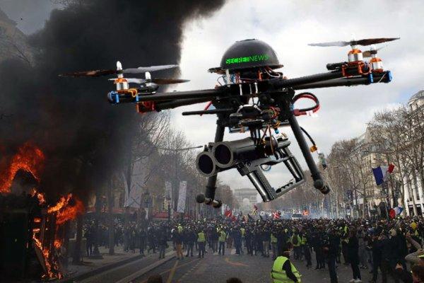 Mahjoubi veut des drones Lanceurs de Balles de Défense pour protéger Paris