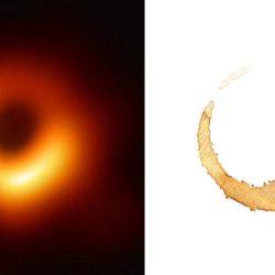 La NASA s'excuse : le trou noir est une tache de café agrandie par erreur au télescope