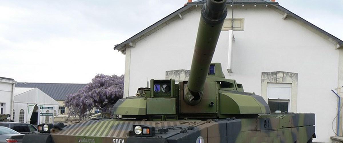 Le domicile de Marlène Schiappa protégé par un char Leclerc et le commando Hubert