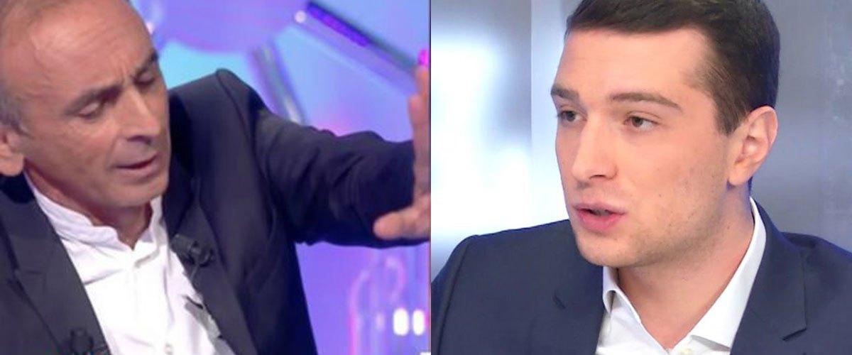 Eric Zemmour trouve le prénom de Jordan Bardella pas assez « français »