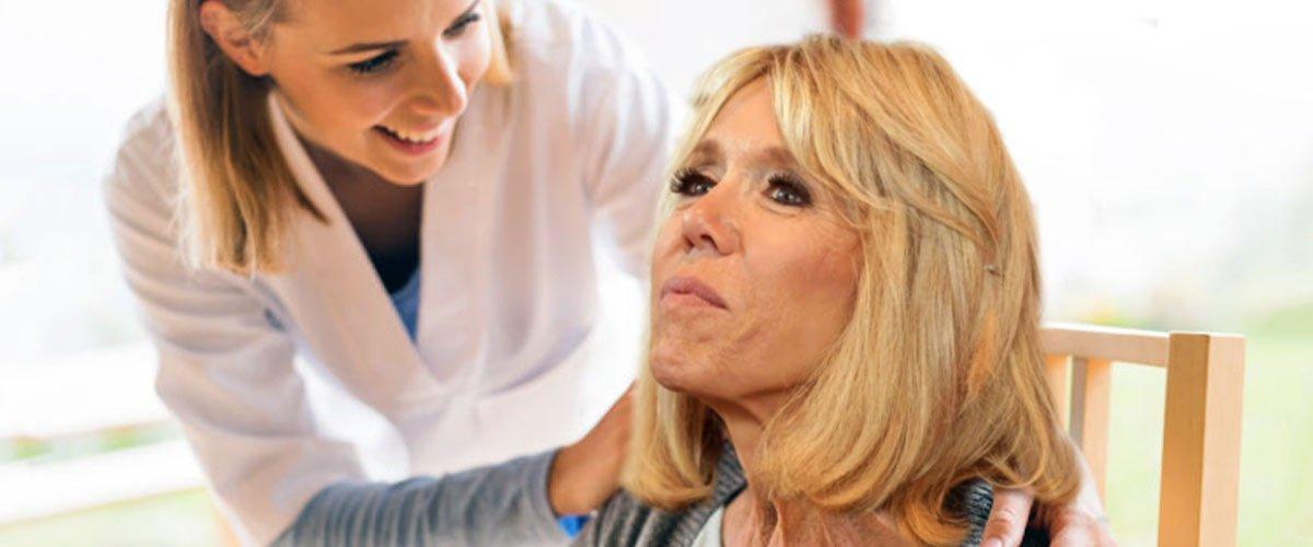 Brigitte Macron s'est fait retirer la pomme d'Adam et a subit une vasectomie