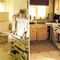 Le domicile de Marlène Schiappa entièrement recouvert de Post-it jaunes