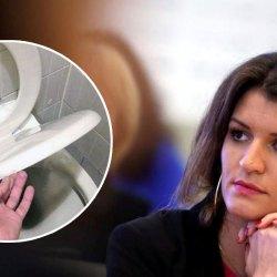 """""""Les hommes qui ne baissent pas la lunette des toilettes iront en prison"""" : Marlène Schiappa durcit le ton"""