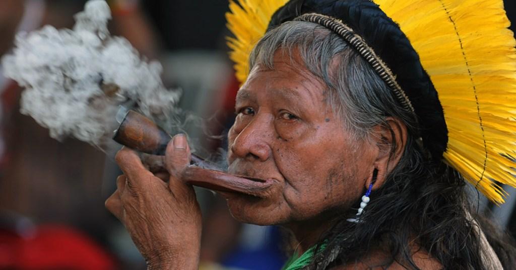 """Bolsonaro reproche aux tribus d'Amazonie de mal éteindre leurs """"cigarettes"""""""