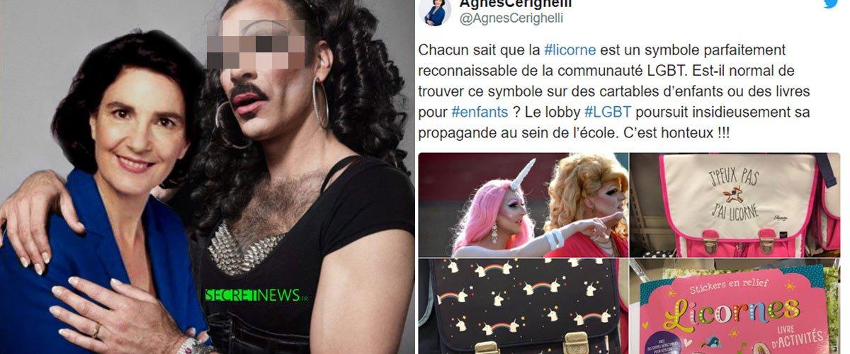 Agnès Cerighelli Payée Par Le Puissant Lobby Lgbt Pour