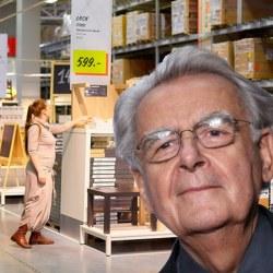 Bernard Pivot : ses plans drague chez Ikea
