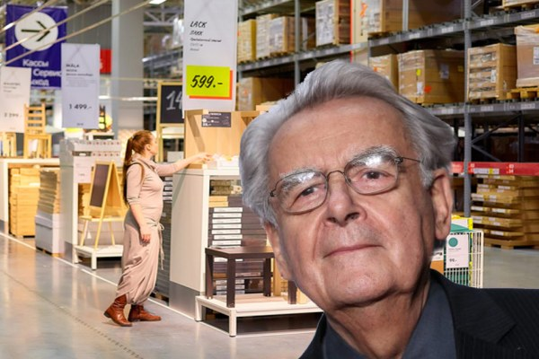 Bernard Pivot : ses plans drague chez Ikea