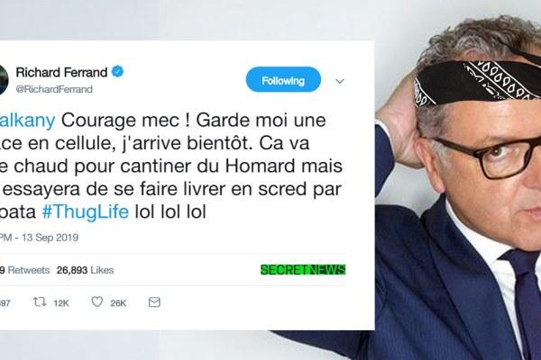 """""""Courage mec, j'arrive bientôt"""" : Richard Ferrand soutient Patrick Balkany"""