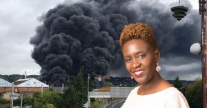Rouen : Rokhaya Diallo s'insurge que la fumée noire inquiète plus que si elle était blanche